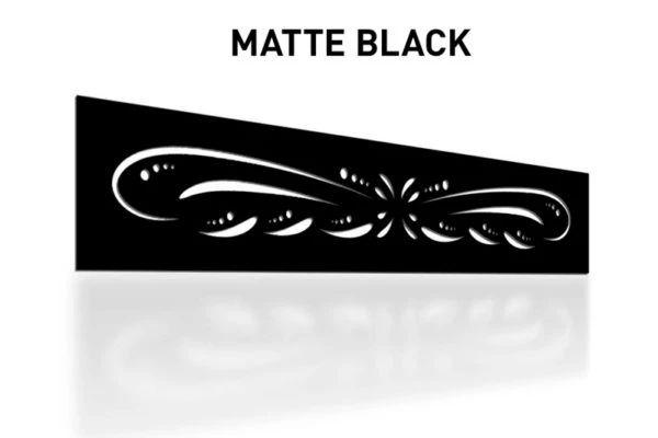 Matte-Black-Laser-Cut-Metal-Aluminum-Fence-Topper-Panel