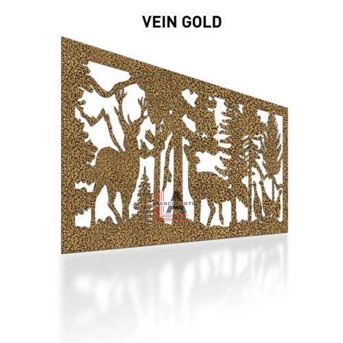 Vein-Gold-Laser-Cut-Metal-Aluminum-Fence-Panel