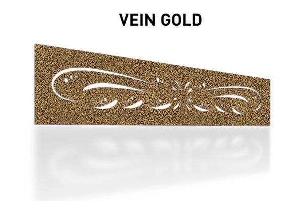Vein-Gold-Laser-Cut-Metal-Aluminum-Fence-Topper-Panel