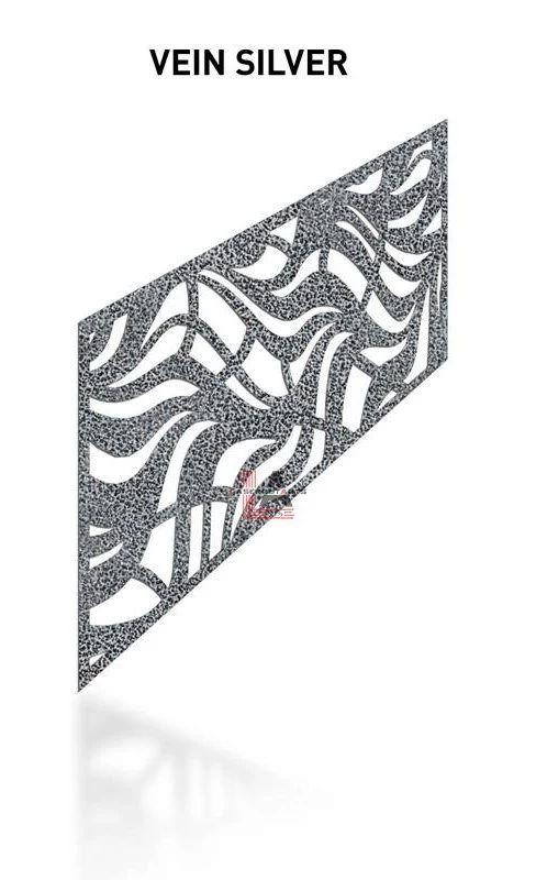 Vein-Silver-Laser-Cut-Metal-Aluminum-Railing-Panel
