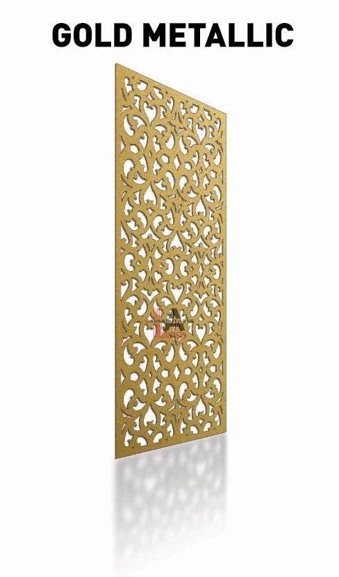 gold-metallic-laser-cut-privacy-panel