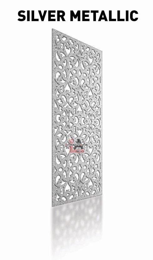 silver-metallic-laser-cut-privacy-panel