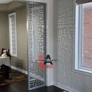 Modern Pattern Room Divider - Decorative Metal Indoor Panels