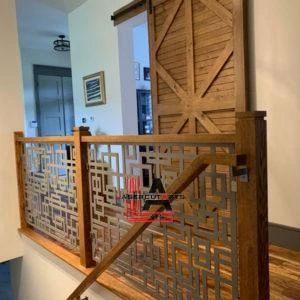 Indoor Modern Square Railing Panels