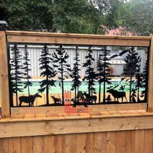 Moose Family Deck Panel Insert