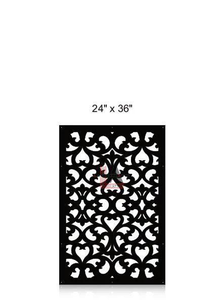 Laser-Cut-Metal-Privacy-Panel-24x36