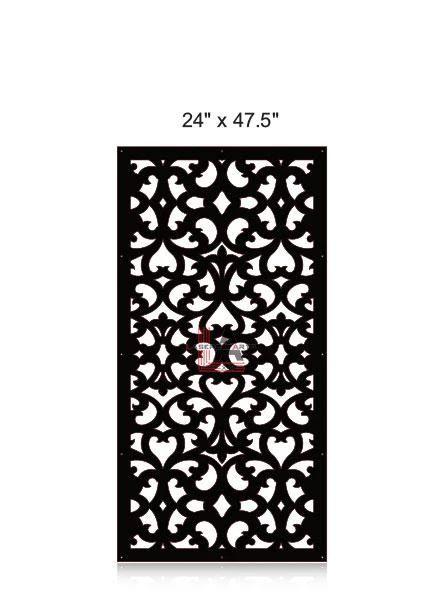 Laser-Cut-Metal-Privacy-Panel-24x47.5