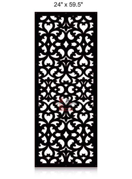 Laser-Cut-Metal-Privacy-Panel-24x59.5