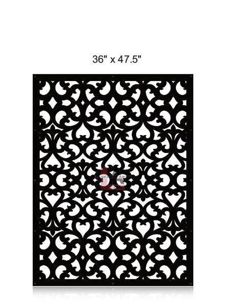 Laser-Cut-Metal-Privacy-Panel-36x47.5