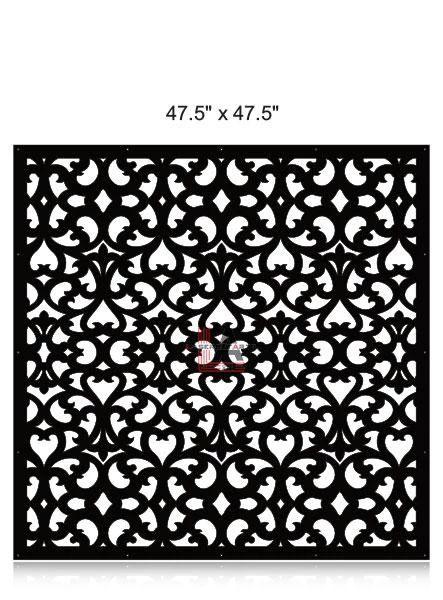 Laser-Cut-Metal-Privacy-Panel-47.5x47.5